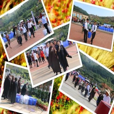 晋福古园中元节祈福放生活动